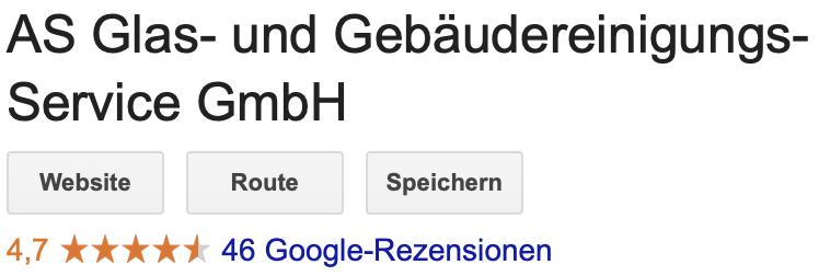 Google 4,7 von 5 Sternen