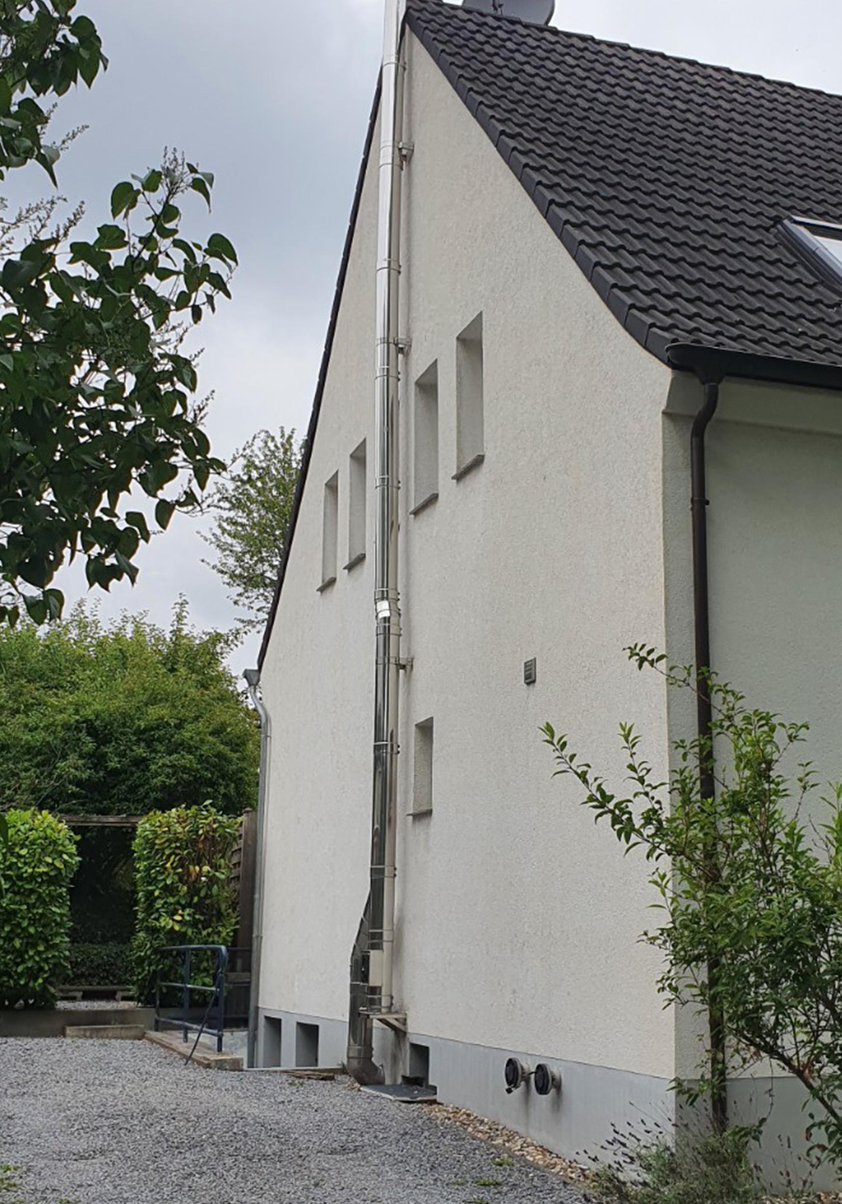 Abgeschlossene Fassadenreinigung